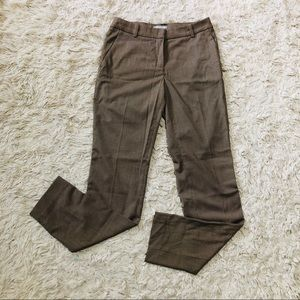 H&M • Gun Club Check Slacks • Tan